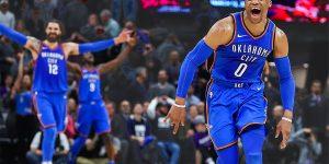 Russel Westbrook triple double