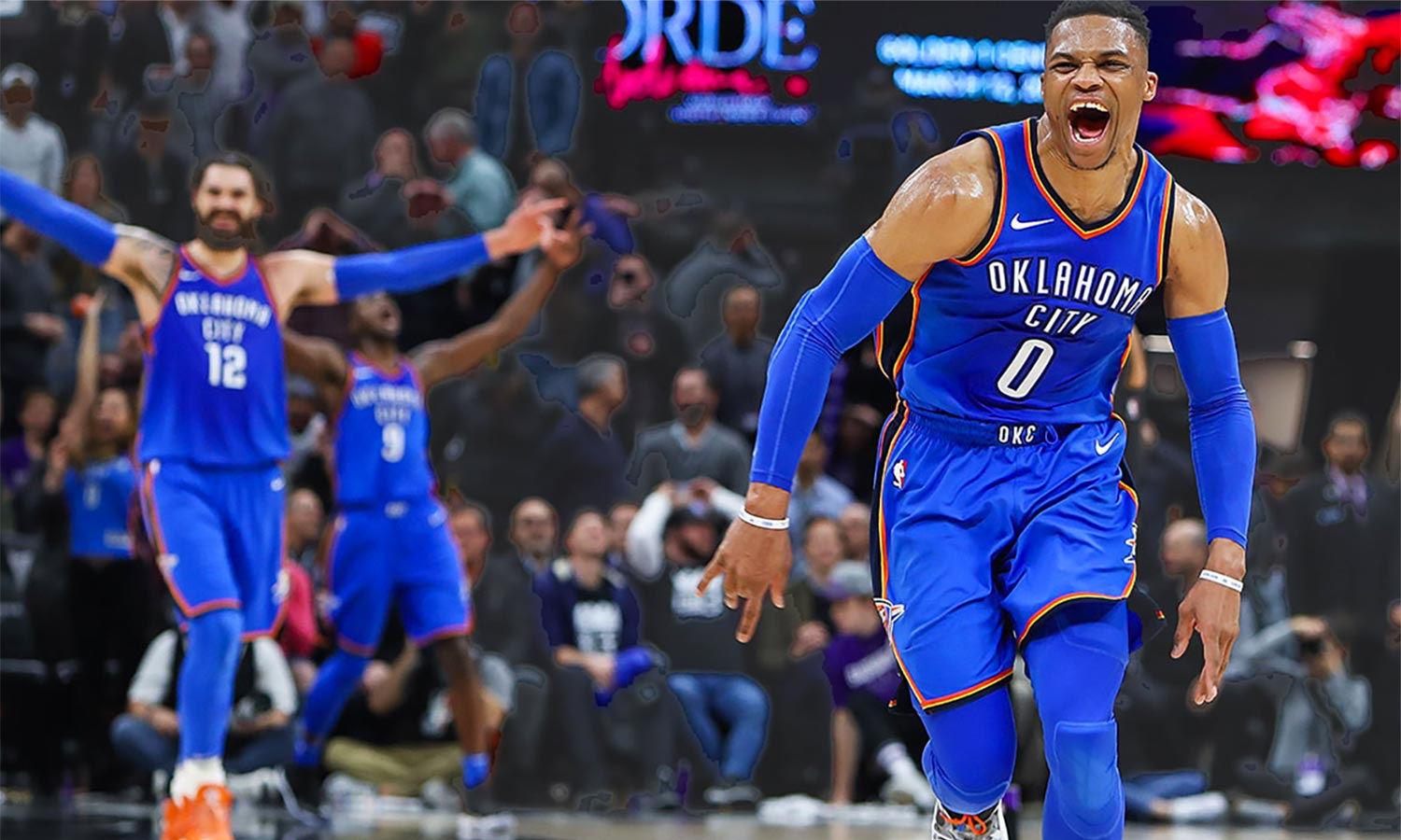 Russel Westbrook triple double