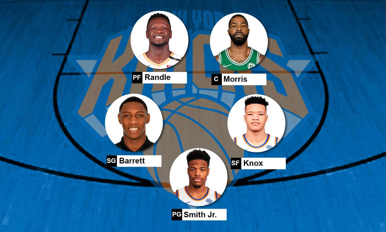 Escalação New York Knicks