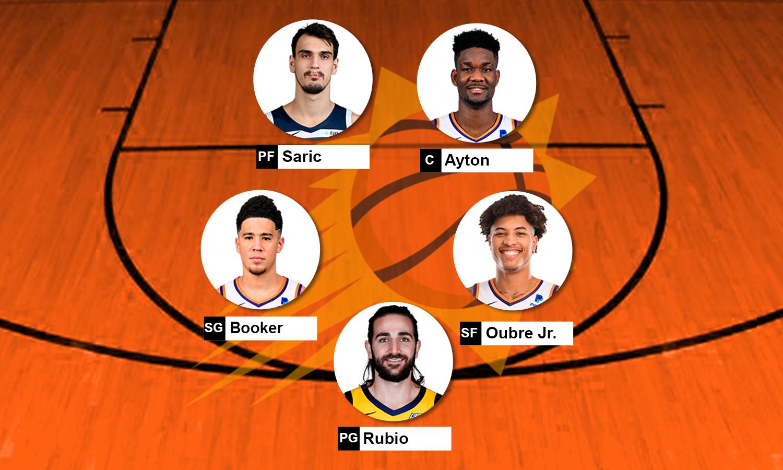 Escalação Phoenix Suns 2019-20