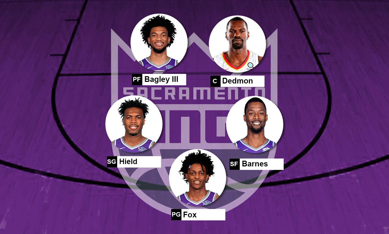 Escalação Sacramento Kings