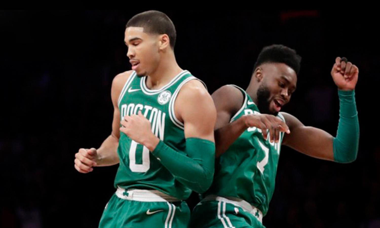 Jayson Tatum e Jaylen são o futuro do Celtics