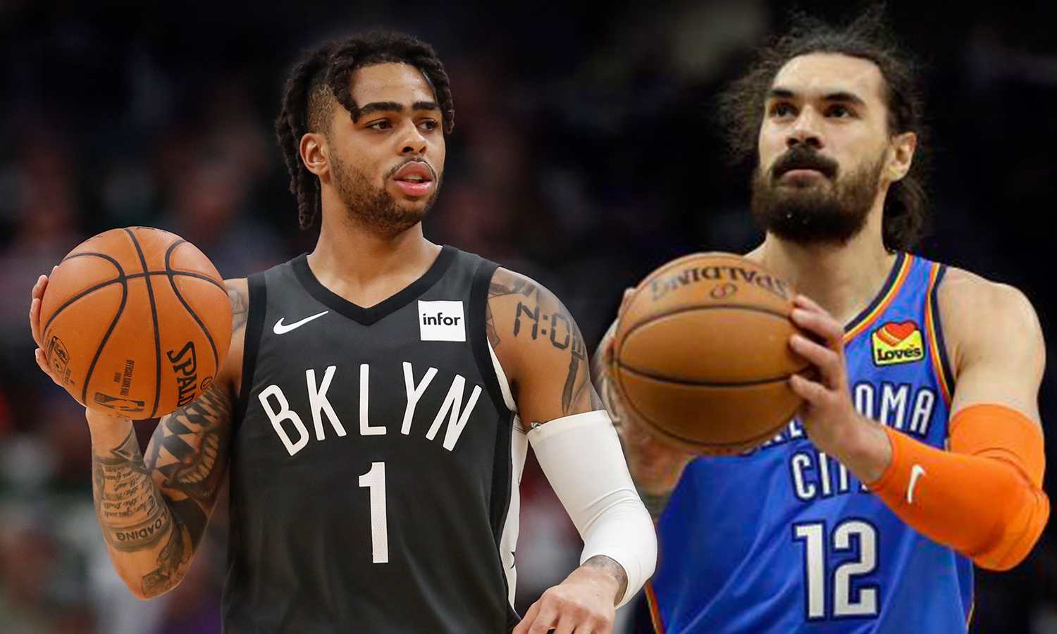 boatos D'Angelo Russell Steven Adams
