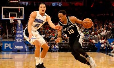 Spurs Magic DeRozan Gordon