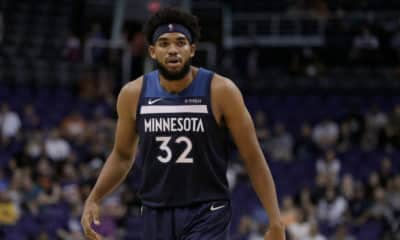 Karl-Anthony Towns Warriors