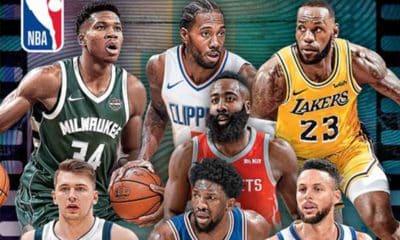 álbum figurinhas NBA 2019-20