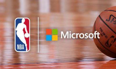 NBA Microsoft parceria