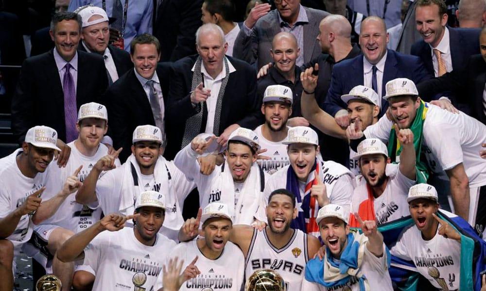 Spurs maiores NBA