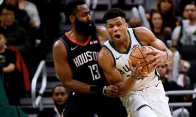 James Harden Giannis Antetokounmpo