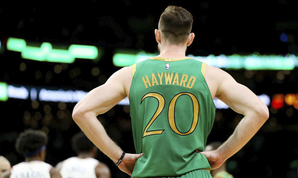 Gordon Hayward Hornets