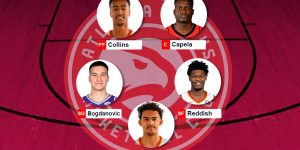 Lineup Hawks 2020/21