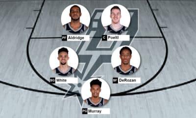 Lineup Spurs 2020-21