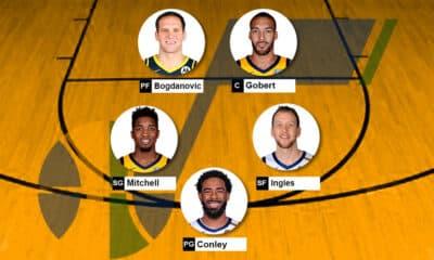Lineup Utah Jazz