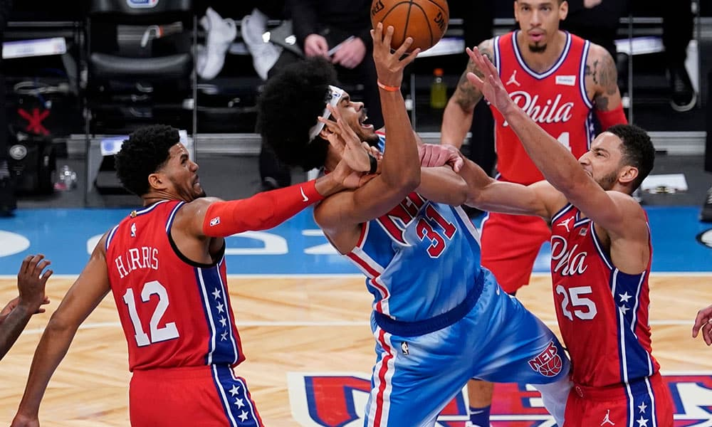 Nets bate 76ers