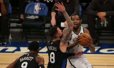Kevin Durant Nets Knicks