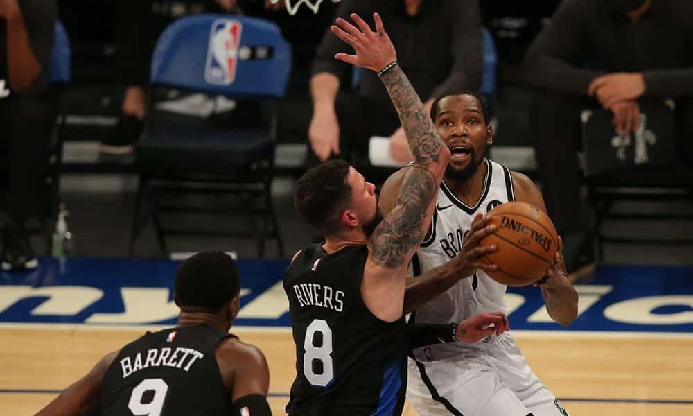 Kevin Durant Nets Knicks