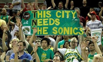Seatle SuperSonics voltar NBA