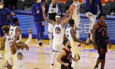 Warriors vence Raptors