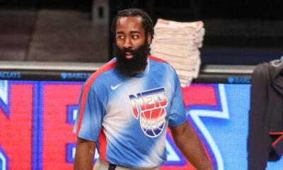 Harden difícil derrotar Nets sete jogos