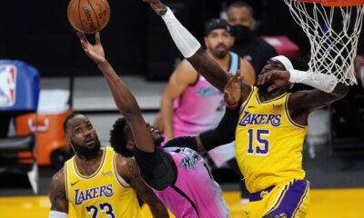 Heat Lakers primeiro encontro finais