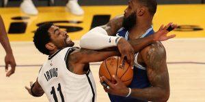 LeBron James 35.000 cutucada Kyrie Irving