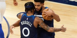 Timberwolves disponibilizar Towns Russell