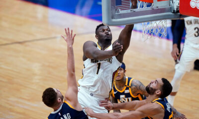 Zion Williamson Pelicans Jazz