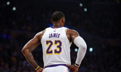 1.300º jogo LeBron Lakers vence Warriors