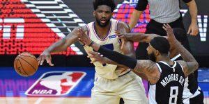 76ers sequência vitórias Clippers