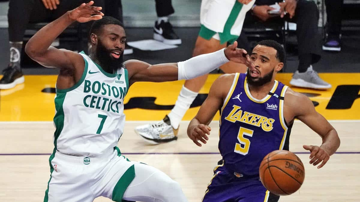 vitória Celtics Lakers