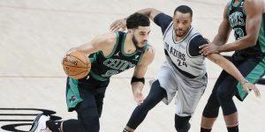 Tatum 32 pontos vitória Celtics Blazers