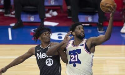 76ers vence Nets