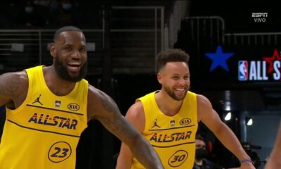 Warriors boatos de Curry Lakers