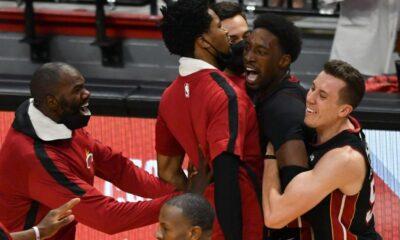 Adebayo Heat vence Nets