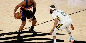 Suns vitória Jazz