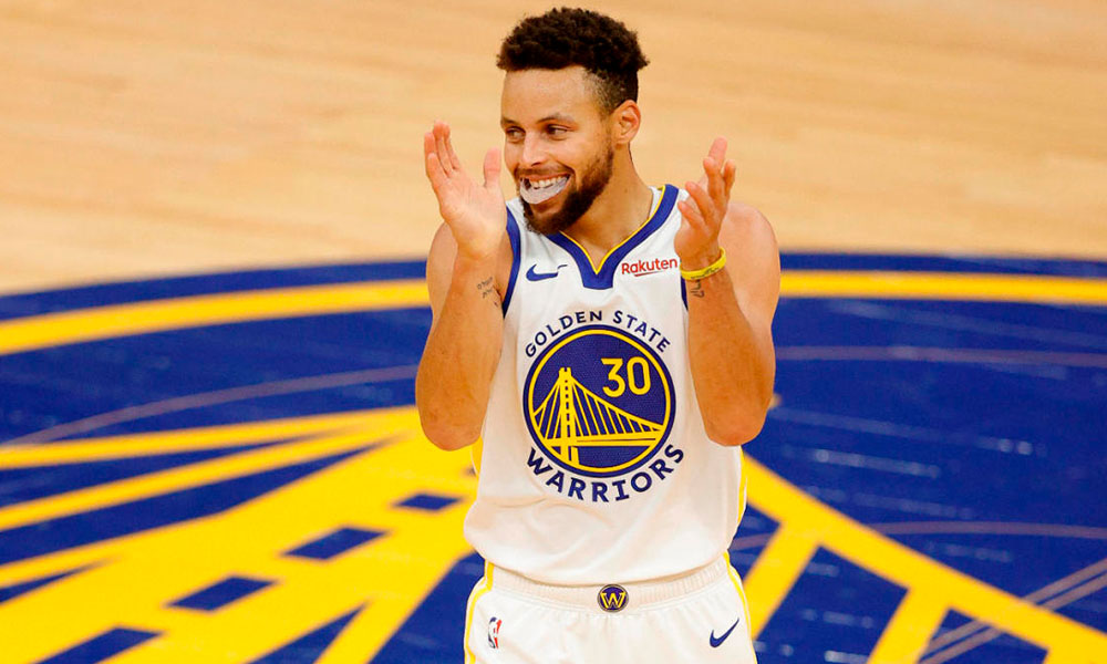 Stephen Curry recorde Wilt Chamberlain