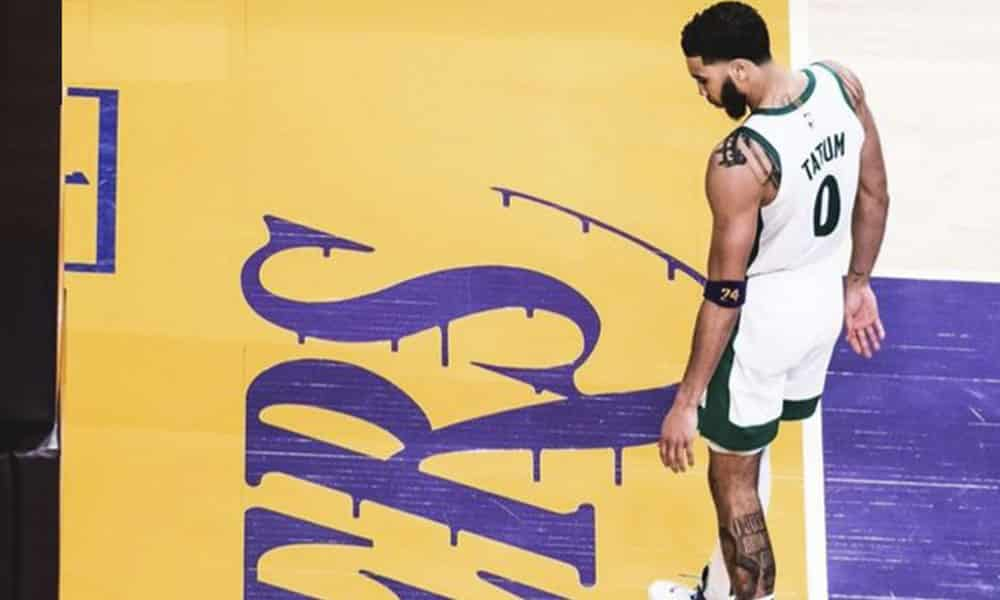 Tatum foto misteriosa Lakers