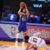 Curry maior pontuador Warriors vitória Nuggets