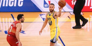 Curry Warriors vence Nuggets