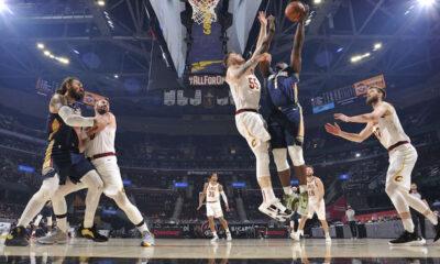 Williamson 38 vitória Pelicans Cavaliers
