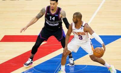 Paul Booker Suns vitória 76ers