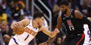 Clippers acaba com a sequência de vitórias do Suns