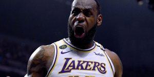 LeBron James play-in NBA