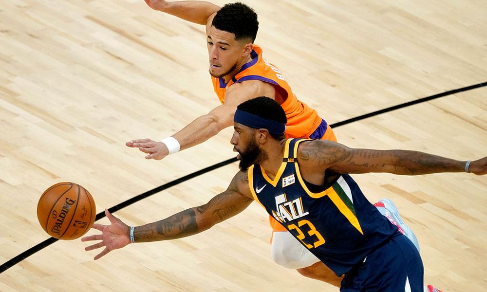 Suns Jazz melhor campanha NBA