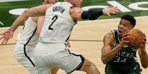 vitória Bucks sobre Nets
